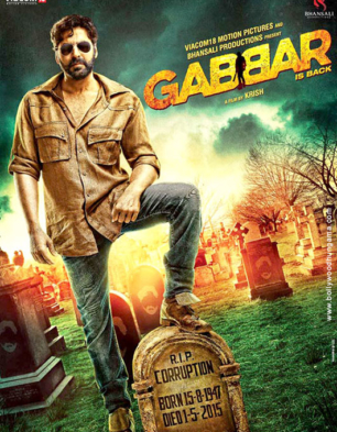 Gabbar Is Back Cover