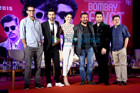Ranbir Kapoor & Anushka Sharma grace the 2nd trailer launch of 'Bombay Velvet'