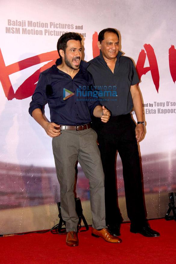 Emraan Hashmi & Mohammad Azharuddin unveil the first look of 'Azhar'