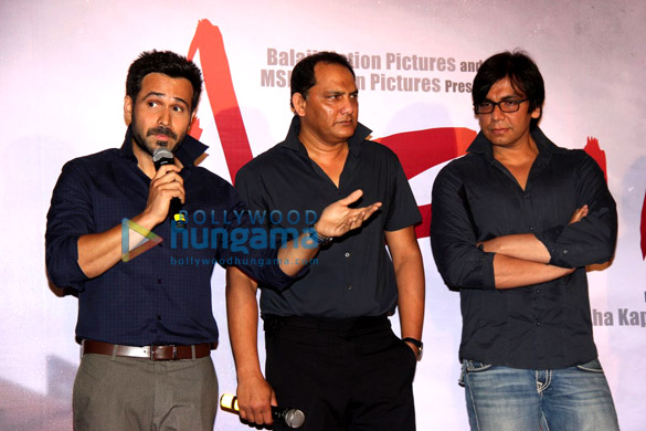 Emraan Hashmi & Mohammad Azharuddin unveil the first look of 'Azhar'
