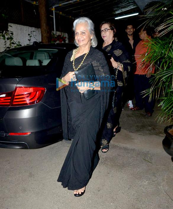 Sonam Kapoor, Dia Mirza and others at 'Jaanisaar' screening