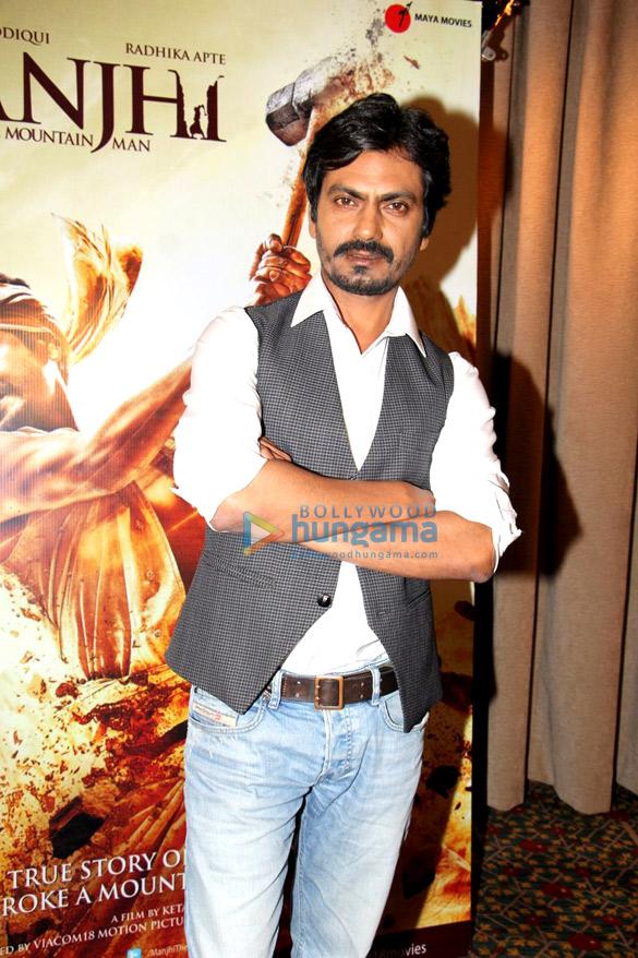 Nawazuddin Siddiqui promotes 'Manjhi The Mountain Man'