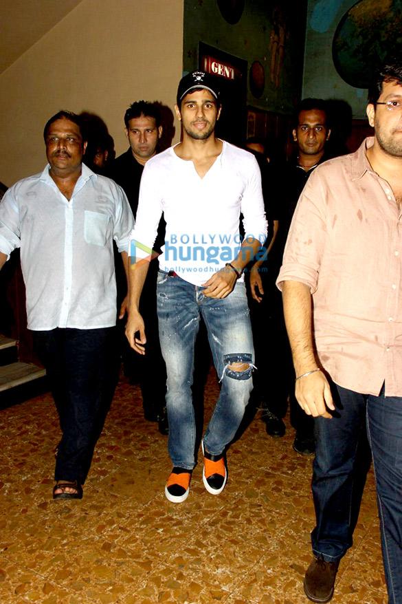 Sidharth Malhotra & Karan Malhotra visit Gaiety Cinema to promote 'Brothers'