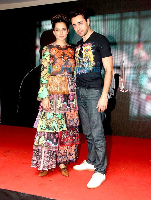 Imran Khan & Kangna Ranaut promote 'Katti Batti' at MMK College