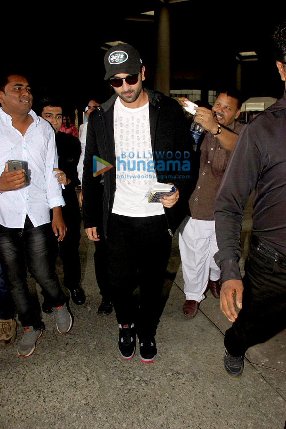 Ranbir Kapoor comes back from 'Ae Dil Hai Mushkil' shoot