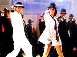 Movie Still From The Film One 2 Ka 4 Featuring Juhi Chawla,Shahrukh Khan