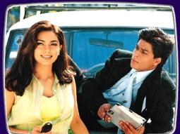 Movie Still From The Film Phir Bhi Dil Hai Hindustani Featuring Juhi Chawla,Shahrukh Khan