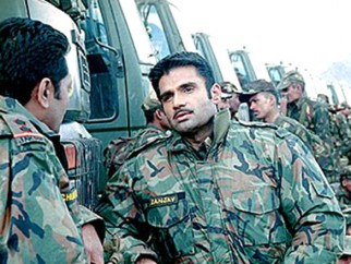 Movie Still From The Film LOC - KARGIL,Suniel Shetty