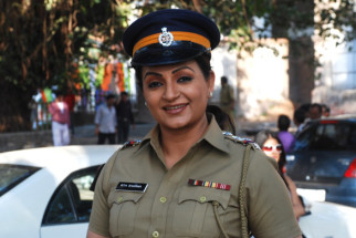 On The Sets Of The Film Tension Mat Le Yaar,Upasna Singh