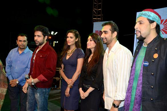 Cast of Jannat 2 at 'Junoon' concert