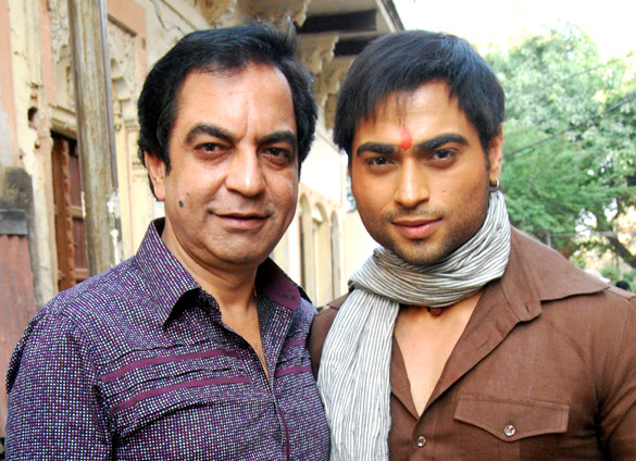 On The Sets Of The Film Chakradhaar,Bharat Anand,Abhishek Anand