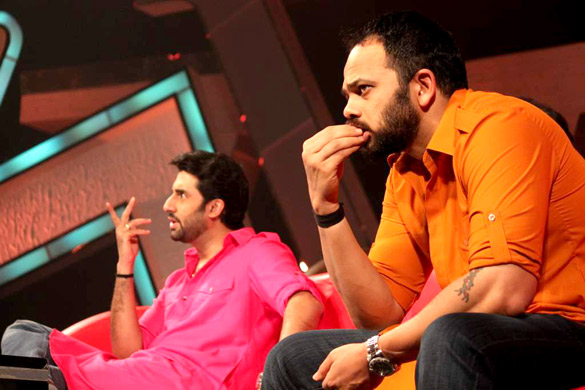 Promotion of 'Bol Bachchan' on Zee Lil Champs