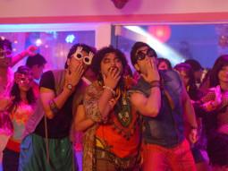 Movie Still From The Film Kyaa Super Kool Hain Hum,Riteish Deshmukh,Kavin Dave,Tusshar Kapoor