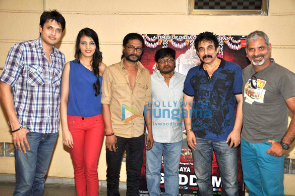 Press meet of 'Le Gaya Saddam'