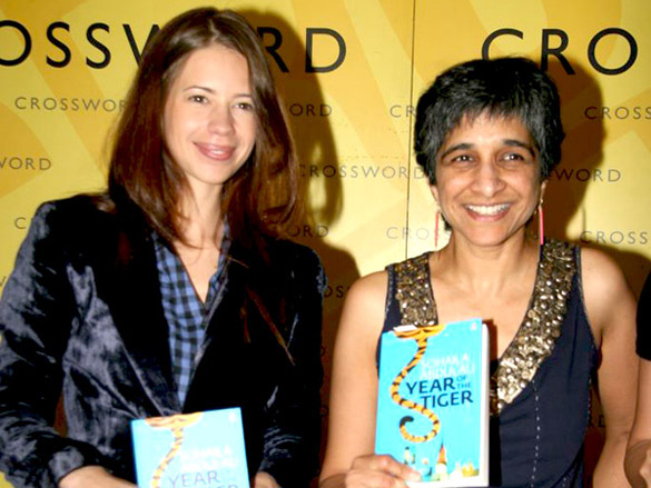 Kalki Koechlin unveils 'The Year of the Tiger' book