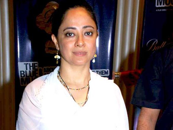 Ranvir and Konkona at 'The Blue Mug' play press meet