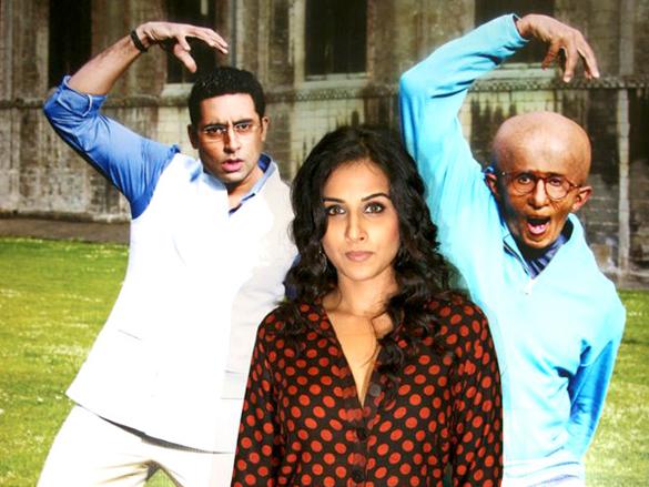 Vidya Balan promotes 'Paa' on Big FM with school children