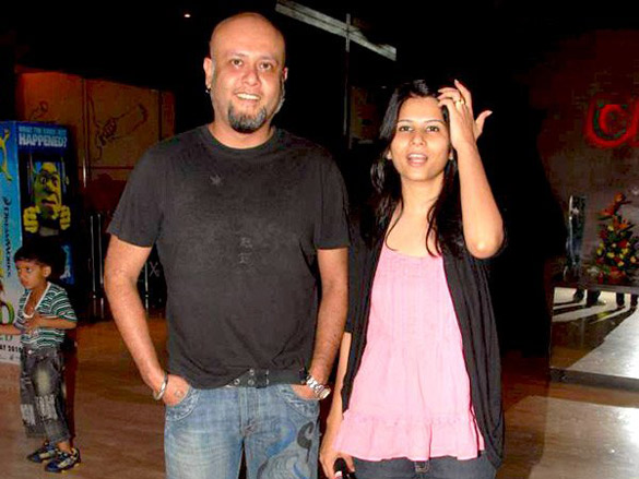 Himesh and Sonal Chauhan at Kites special screening