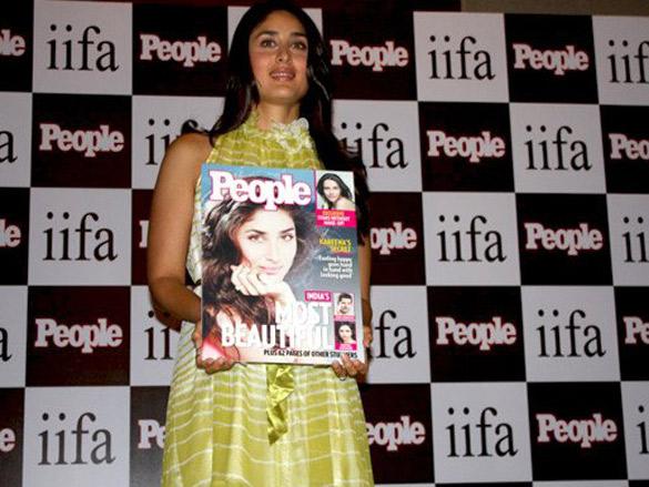 Kareena launches People Magazine's new edition at IIFA Sri Lanka
