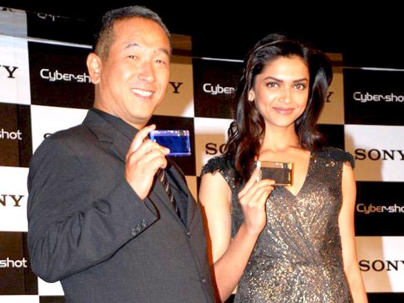Deepika Padukone new brand ambassador for Sony Cyber Shot