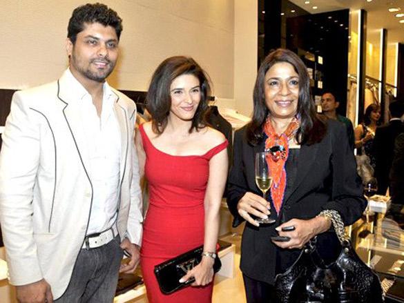 Arjan Bajwa and Rageshwari grace Canali Collection launch