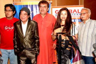 Photo Of Jagdeep,Raza Murad,Salma Agha,Ram Mohan From Press conference of Dadasaheb Phalke Awards