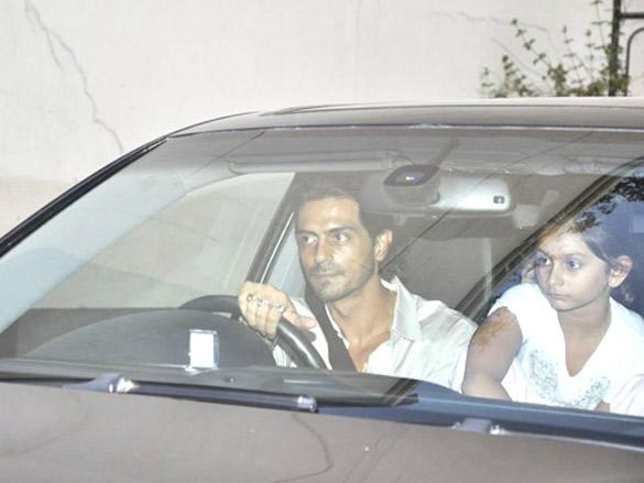 Akshay, Arjun and Ritesh watch Housefull