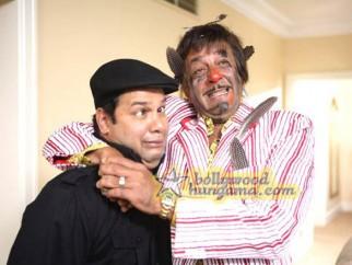 Movie Still From The Film Chatur Singh Two Star Sanjay Dutt,Suresh Menon
