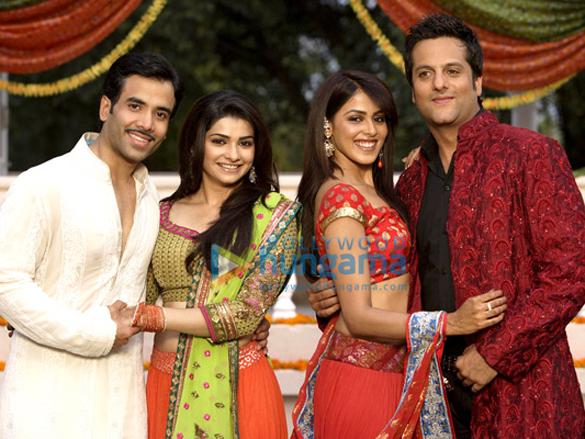 Tusshar Kapoor,Fardeen Khan,Genelia D'souza,Prachi Desai