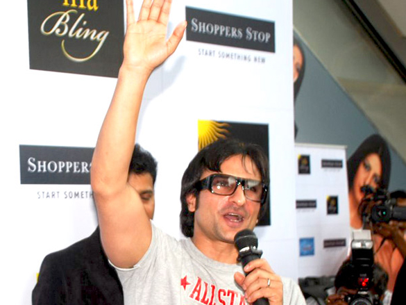 Saif Ali Khan Promotes 'Love Aaj Kal' At Shoppers Stop