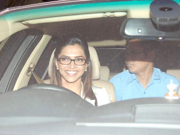 Hrithik, Deepika, Shahid and others at the screening of 'Guzaarish'