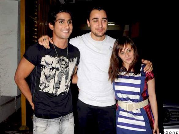 Prateik in Gothic look at 'Delhi Belly' screening