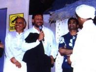 Photo Of J.P Dutta,Avtar Gill,Jackie Shroff,Suniel Shetty From The Audio Release Of Refugee