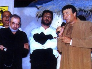 Photo Of Avtar Gill,J.P Dutta,Jackie Shroff,Anu Malik From The Audio Release Of Refugee