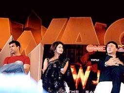 Photo Of Akshay Kumar,Priyanka Chopra,Anu Malik From The Mahurat Of 'Waqt'