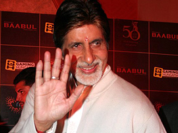 Amitabh Bachchan Launches Online And Mobile Game Of Baabul