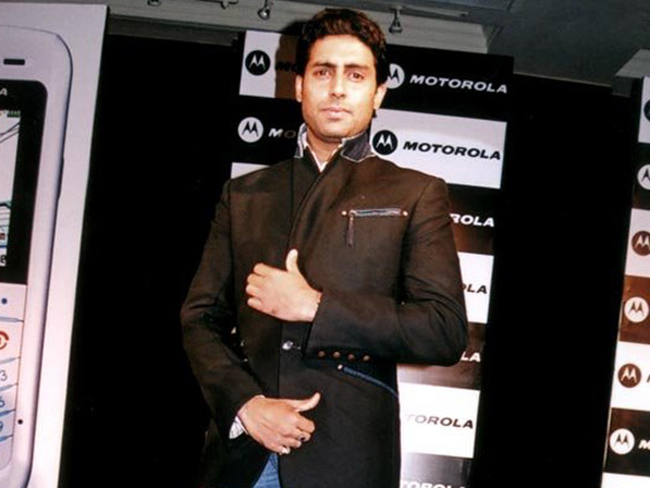 PC To Announce Abhishek As The Brand Ambassador For Motorola Mobile Phone