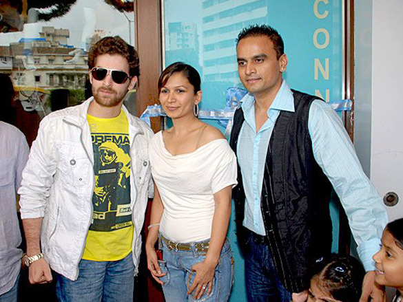 Photo Of Neil Nitin Mukesh,Pahyal Kothaari,Nirav Shah From The Neil Nitin Mukesh Inaugurates 'Pure Connections' Apparel Store
