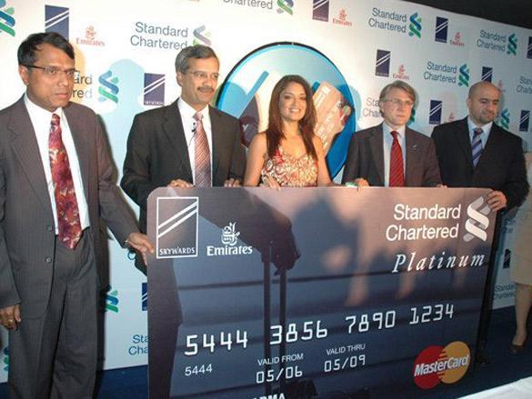 Sandhya Mridul Launches Standard Chartered's New Credit Card