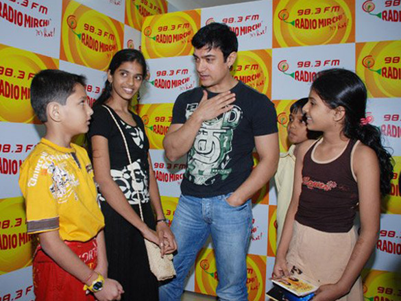 Aamir Khan Celebrates Children's Day