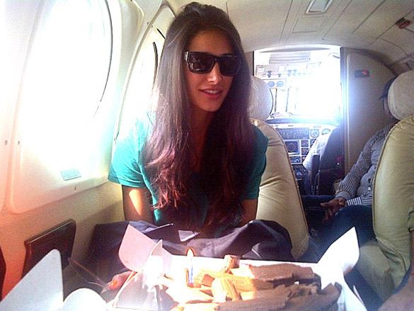 Ranbir gives birthday surprise to Nargis