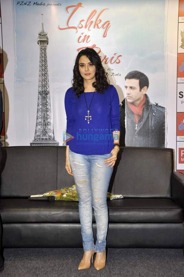 Preity & Sophie promote 'Ishkq In Paris'
