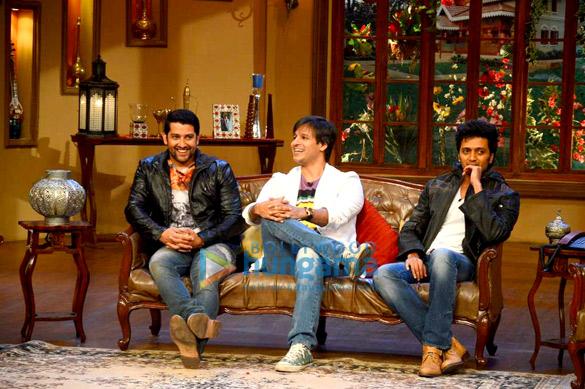 Vivek, Ritesh & Aftab at Comedy Night with Kapil