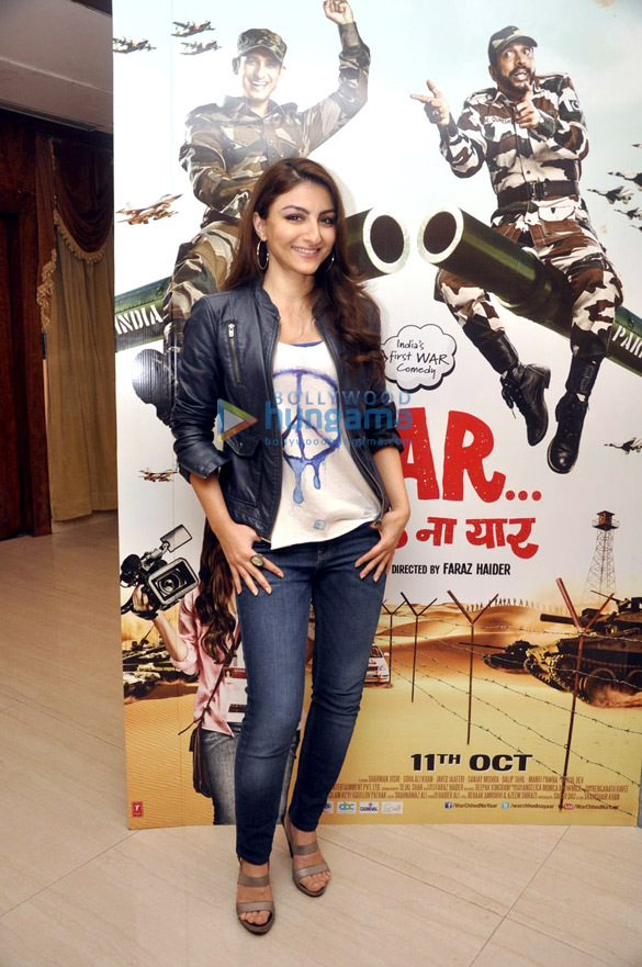 Soha & Sharman promote 'War Chhod Na Yaar'