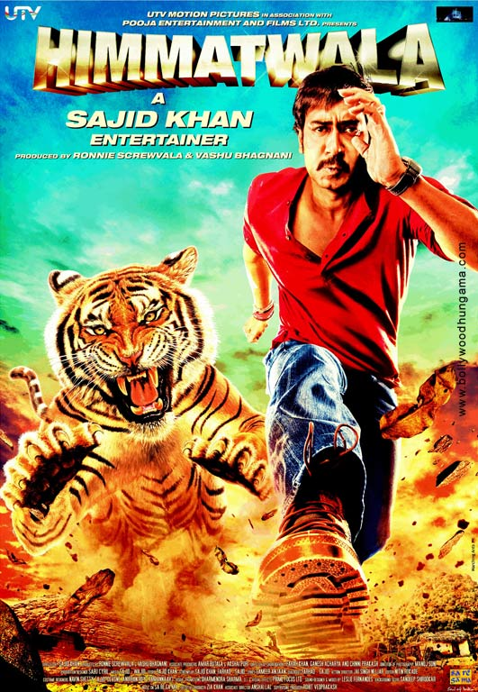Himmatwala 2013 Hindi Movie 720p NF HDRip 1.2GB ESubs Download