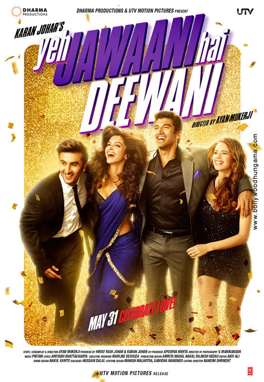 Yeh jawaani hai deewani poster, images, photos, wallpapers.