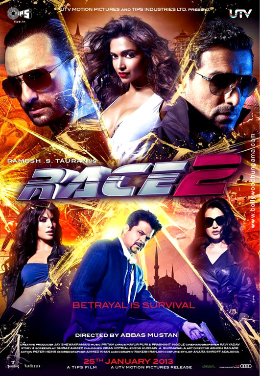 Race 2 Cover