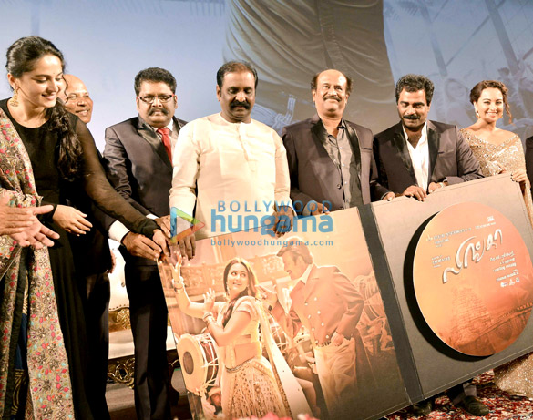 Audio release of Rajinikanth's film 'Lingaa'