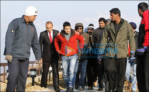 Check Out: Aamir Khan visits Kashmir
