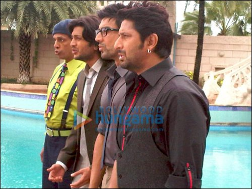Check Out: Arshad, Riteish, Jaaved and Ashish doing Double Dhamaal
